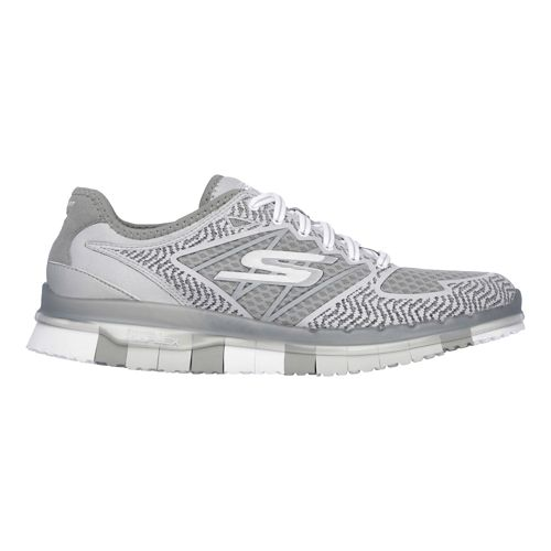 Womens Skechers GO Flex - Momentum Casual Shoe - Grey 7.5