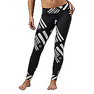 Womens Reebok One Series Stars & Stripes Tights & Leggings Pants