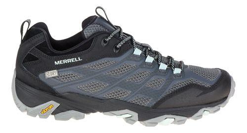 Womens Merrell Moab FST Waterproof Hiking Shoe - Sea Pine 6.5