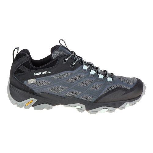 Womens Merrell Moab FST Waterproof Hiking Shoe - Granite 6.5