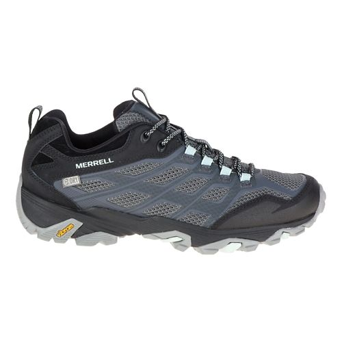Womens Merrell Moab FST Waterproof Hiking Shoe - Boulder 10