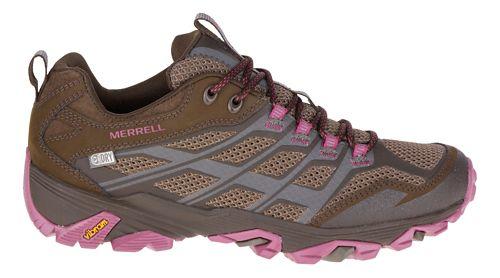 Womens Merrell Moab FST Waterproof Hiking Shoe - Boulder 10