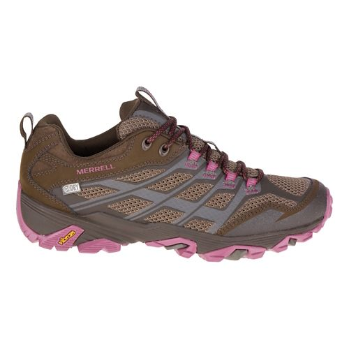 Womens Merrell Moab FST Waterproof Hiking Shoe - Boulder 8