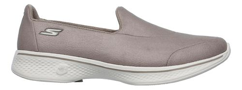 Womens Skechers GO Walk 4 Casual Shoe - Taupe 9