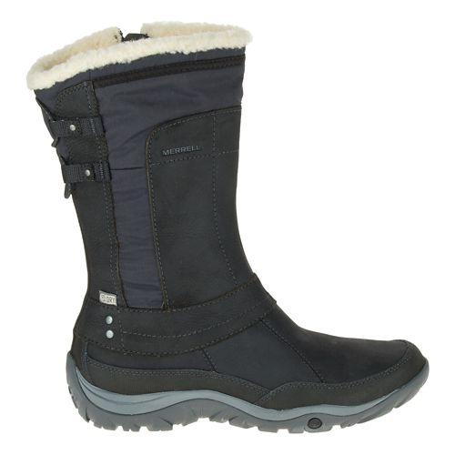 Womens Merrell Murren Mid Waterproof Casual Shoe - Black 9
