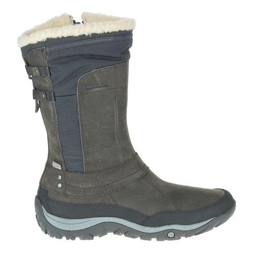 Womens Merrell Murren Mid Waterproof Casual Shoe - Pewter 10