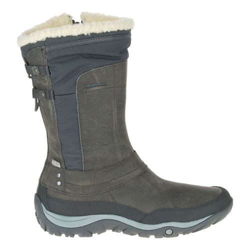 Womens Merrell Murren Mid Waterproof Casual Shoe - Pewter 11
