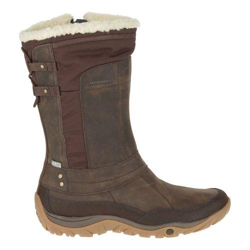 Womens Merrell Murren Mid Waterproof Casual Shoe - Bracken 10