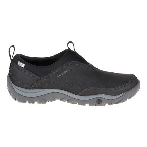 Womens Merrell Murren Moc Waterproof Casual Shoe - Black 6.5