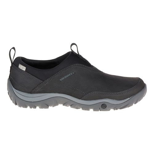 Womens Merrell Murren Moc Waterproof Casual Shoe - Black 8.5