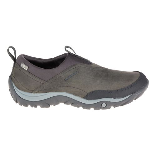 Womens Merrell Murren Moc Waterproof Casual Shoe - Pewter 10.5