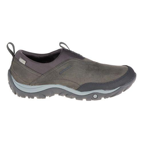 Womens Merrell Murren Moc Waterproof Casual Shoe - Pewter 7