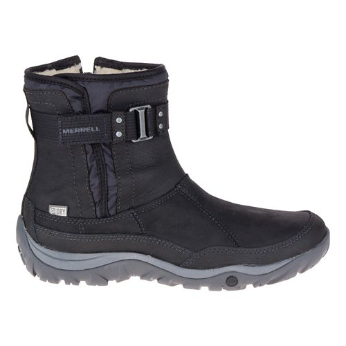 Womens Merrell Murren Strap Waterproof Casual Shoe - Black 7.5
