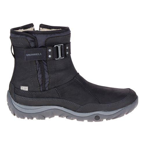 Womens Merrell Murren Strap Waterproof Casual Shoe - Black 8