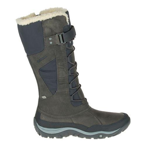 Womens Merrell Murren Tall Waterproof Casual Shoe - Pewter 6
