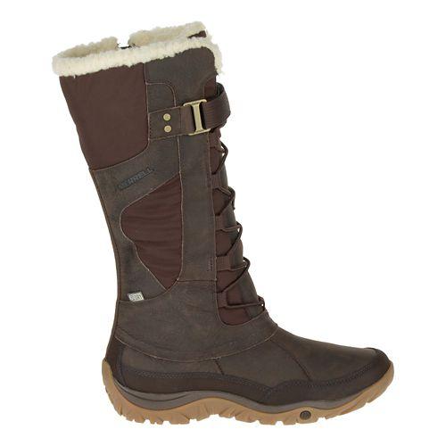 Womens Merrell Murren Tall Waterproof Casual Shoe - Bracken 5