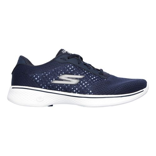 Womens Skechers GO Walk 4 - Exceed Casual Shoe - Navy 7