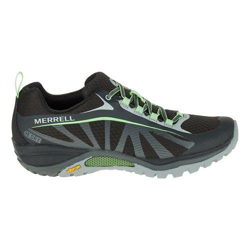 Womens Merrell Siren Edge Waterproof Hiking Shoe - Black/Paradise 9
