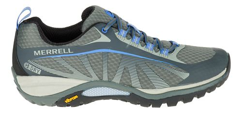 Womens Merrell Siren Edge Waterproof Hiking Shoe - Monument 9.5