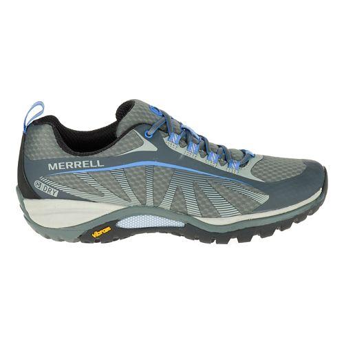 Womens Merrell Siren Edge Waterproof Hiking Shoe - Monument 8