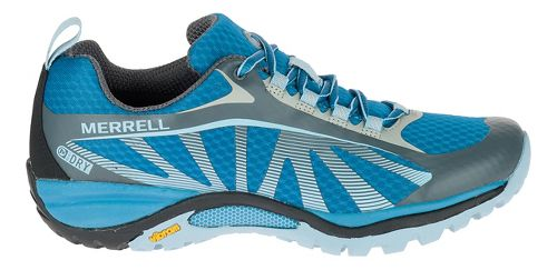 Womens Merrell Siren Edge Waterproof Hiking Shoe - Faience/ForgetMeNot 10
