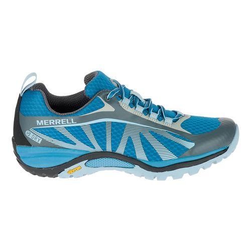 Womens Merrell Siren Edge Waterproof Hiking Shoe - Faience/Forget-me-not 7.5