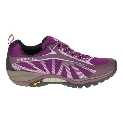 Womens Merrell Siren Edge Waterproof Hiking Shoe - Huckleberry 9.5