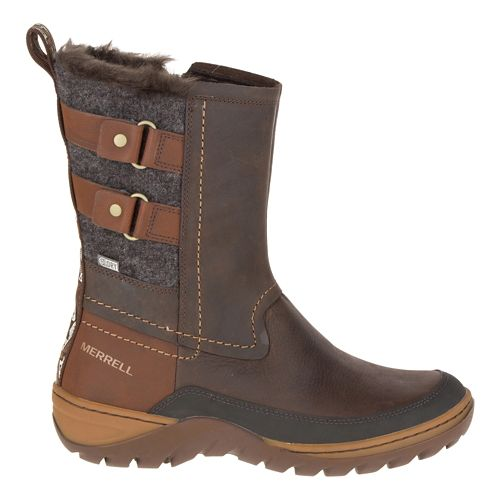 Womens Merrell Sylva Mid Buckle Waterproof Casual Shoe - Potting Soil 5