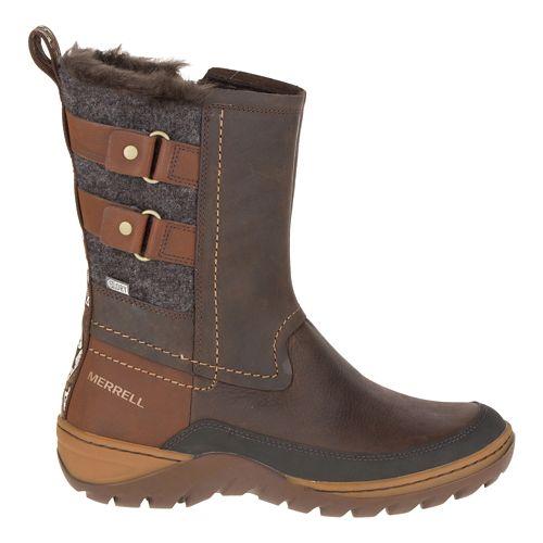 Womens Merrell Sylva Mid Buckle Waterproof Casual Shoe - Potting Soil 7