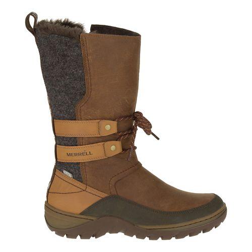 Womens Merrell Sylva Tall Waterproof Casual Shoe - Merrell Tan 10