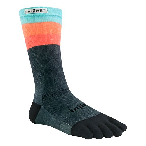 Injinji RUN Lightweight Crew CoolMax Socks - Ascent L