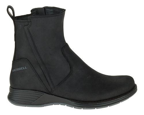 Womens Merrell Travvy Waterproof Casual Shoe - Black 10.5