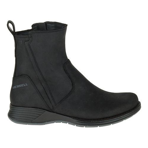 Womens Merrell Travvy Waterproof Casual Shoe - Black 7