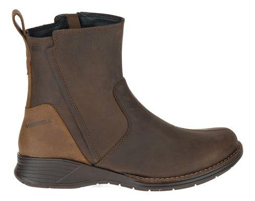 Womens Merrell Travvy Waterproof Casual Shoe - Clay 10