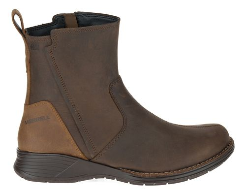 Womens Merrell Travvy Waterproof Casual Shoe - Clay 6