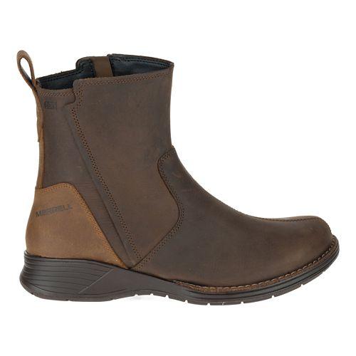 Womens Merrell Travvy Waterproof Casual Shoe - Clay 11