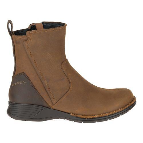 Womens Merrell Travvy Waterproof Casual Shoe - Merrell Tan 6.5