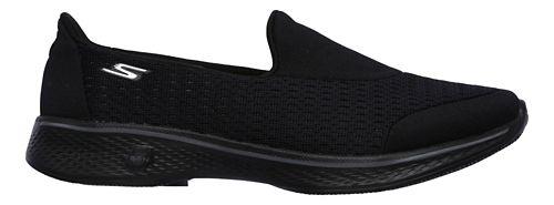 Womens Skechers GO Walk 4 - Pursuit Casual Shoe - Navy/Grey 9.5