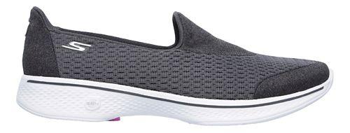 Womens Skechers GO Walk 4 - Pursuit Casual Shoe - Charcoal 7