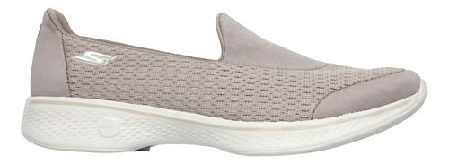 Womens Skechers GO Walk 4 - Pursuit Casual Shoe - Taupe 9