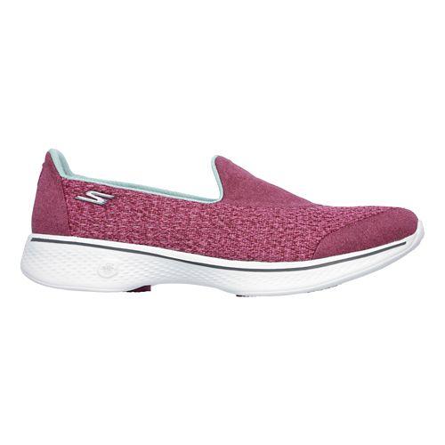 Womens Skechers GO Walk 4 - Pursuit Casual Shoe - Rose 5.5