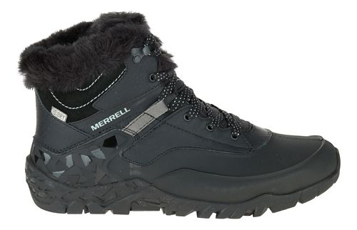 Womens Merrell Aurora 6 Ice+ Waterproof Casual Shoe - Black 6