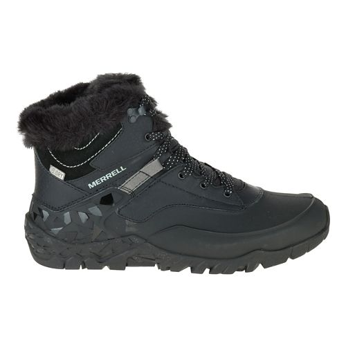 Womens Merrell Aurora 6 Ice+ Waterproof Casual Shoe - Black 6