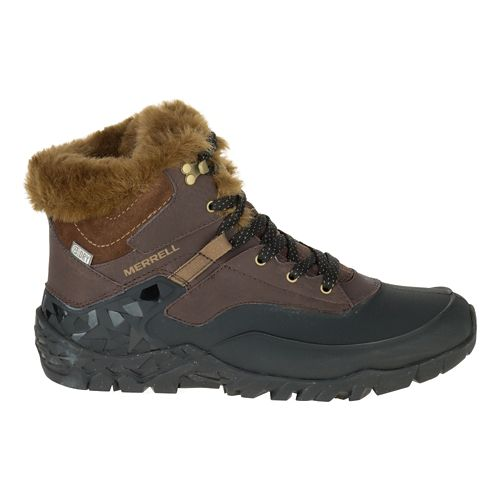 Womens Merrell Aurora 6 Ice+ Waterproof Casual Shoe - Espresso 9