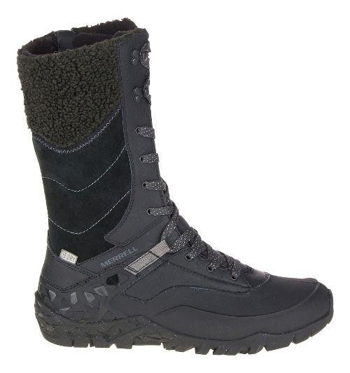 Womens Merrell Aurora Tall Ice+ Waterproof Casual Shoe - Black 5
