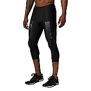 Mens Reebok CrossFit Compression 3/4 Tights & Leggings Pants