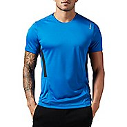 Mens Reebok Work Out Ready Tech Short Sleeve Technical Tops