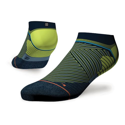 Womens Stance Fusion Run Popideau Low Socks - Blue M