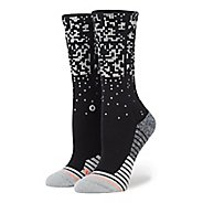 Womens Stance Fusion Run Rapido Crew Socks