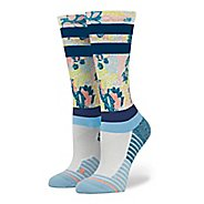 Womens Stance Fusion Run Tempo Crew Socks